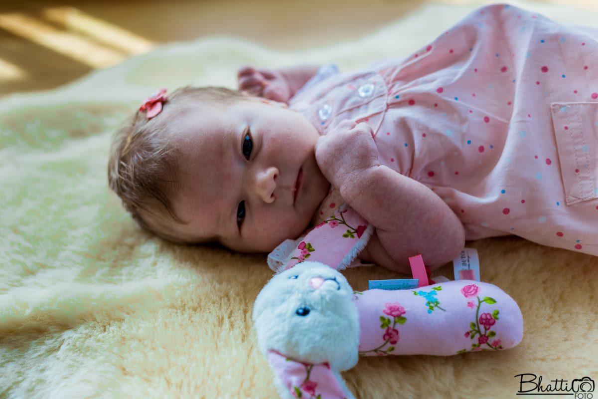 nyfødtfotografering-baby-kaninbamse