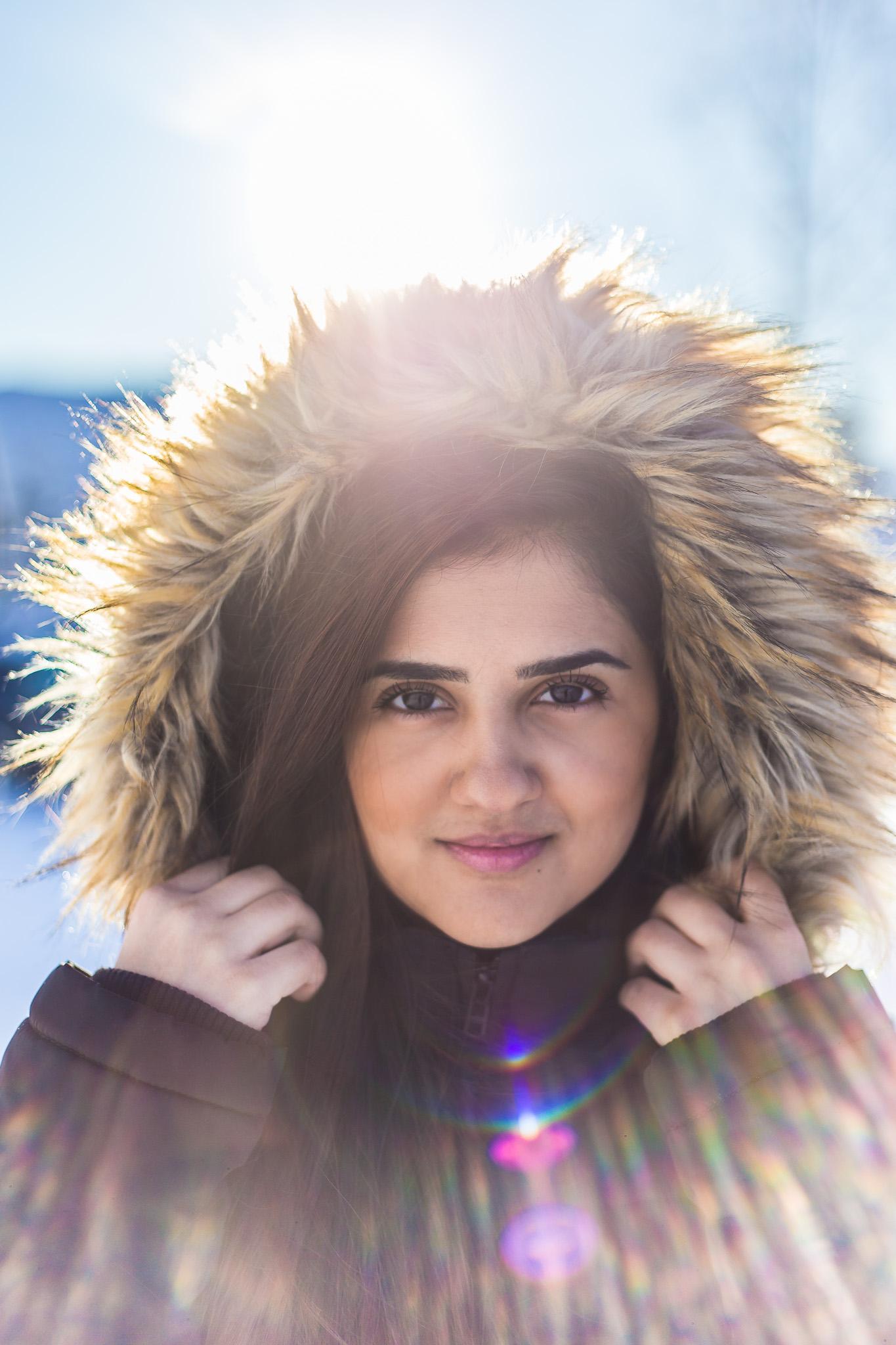 Portrettbilder vinter