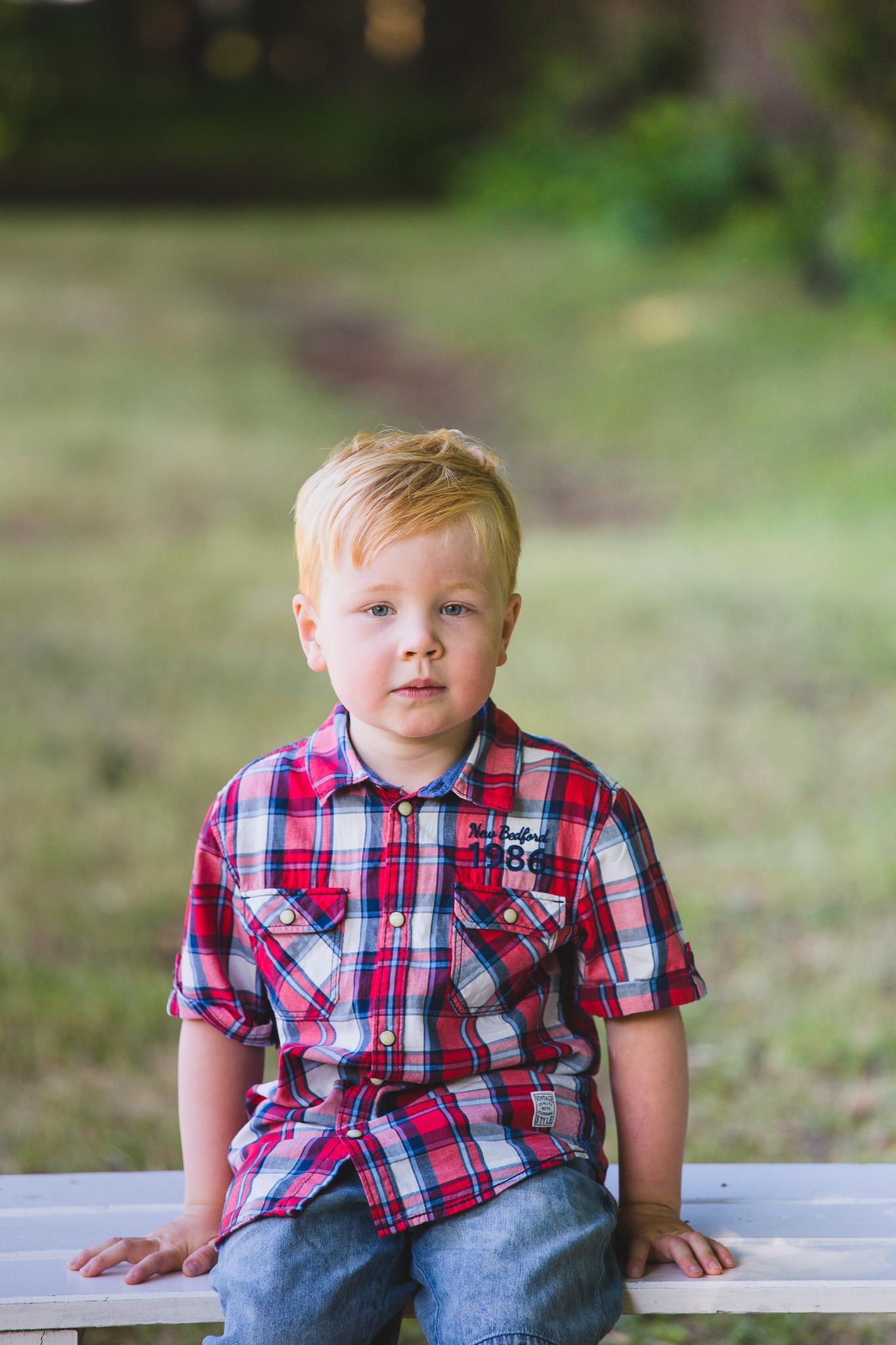 Barnefotografering, Gulskogen gård i Drammen