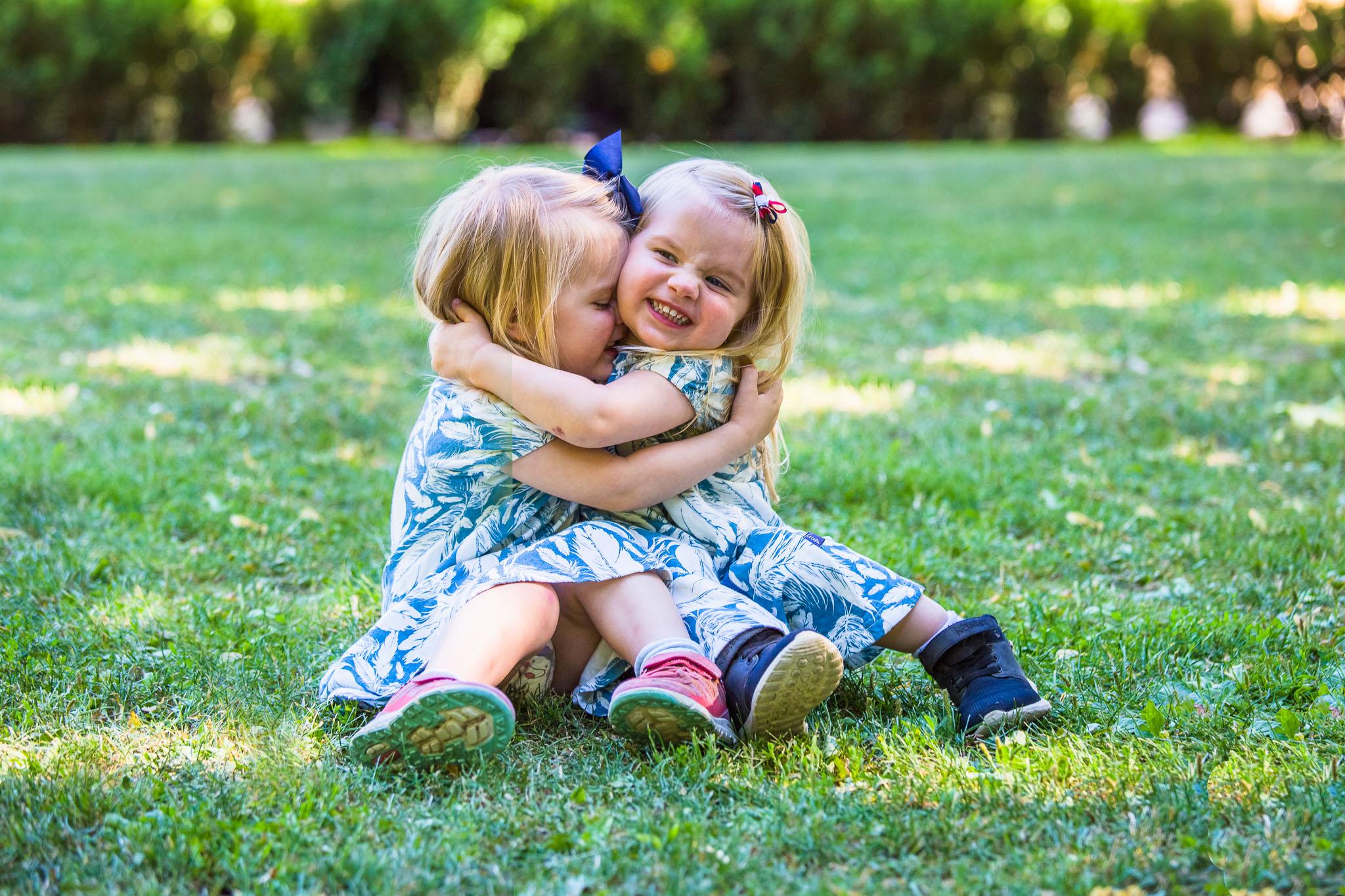 Barnefotografering i Drammen, tvillingjenter