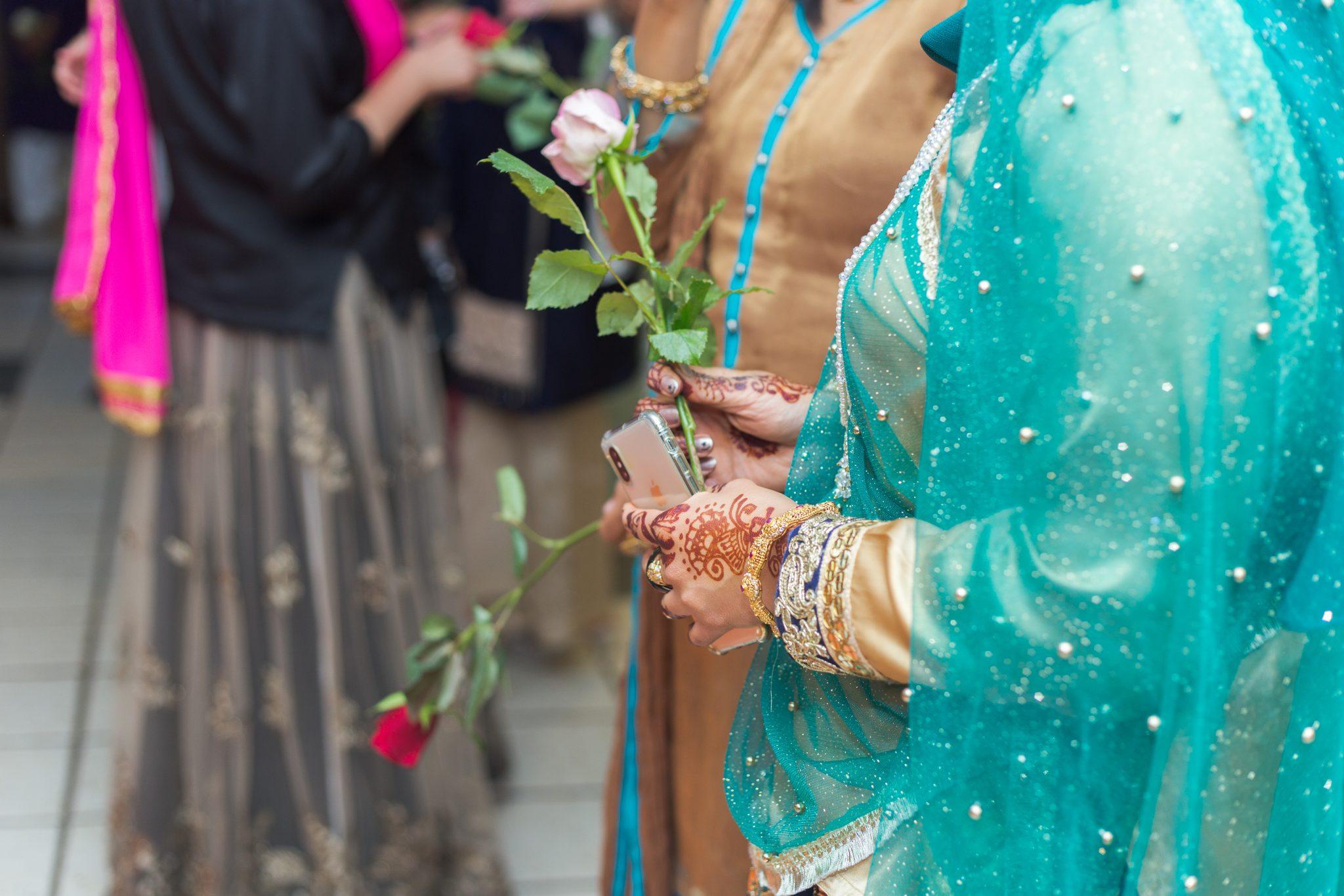 Pakistanske bryllup er fargerike