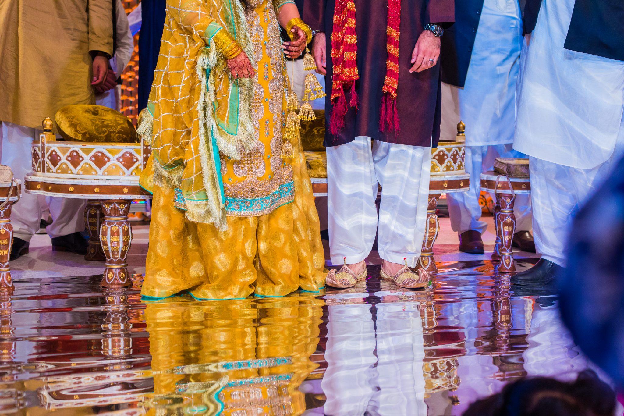 Detaljer fra et pakistansk bryllup - mehndi