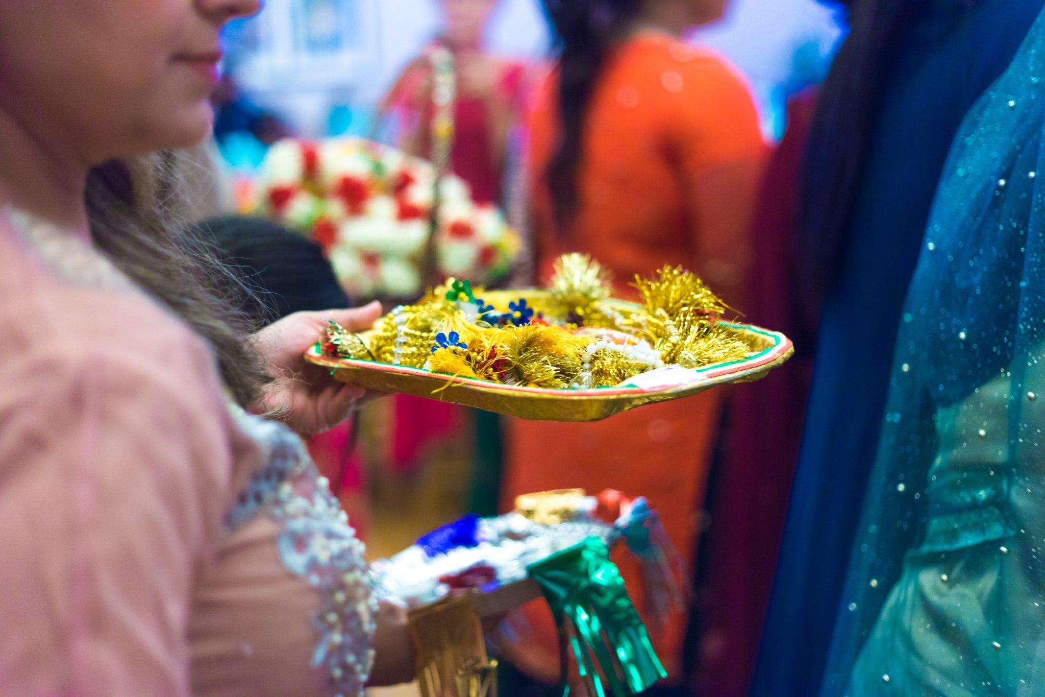 detaljer fotografert i et pakistansk bryllup
