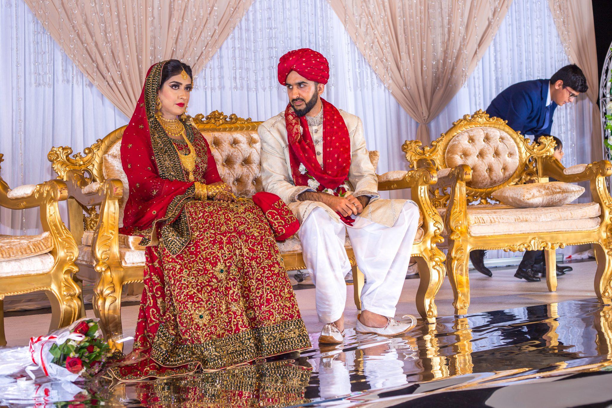 Brudeparet på Baraat